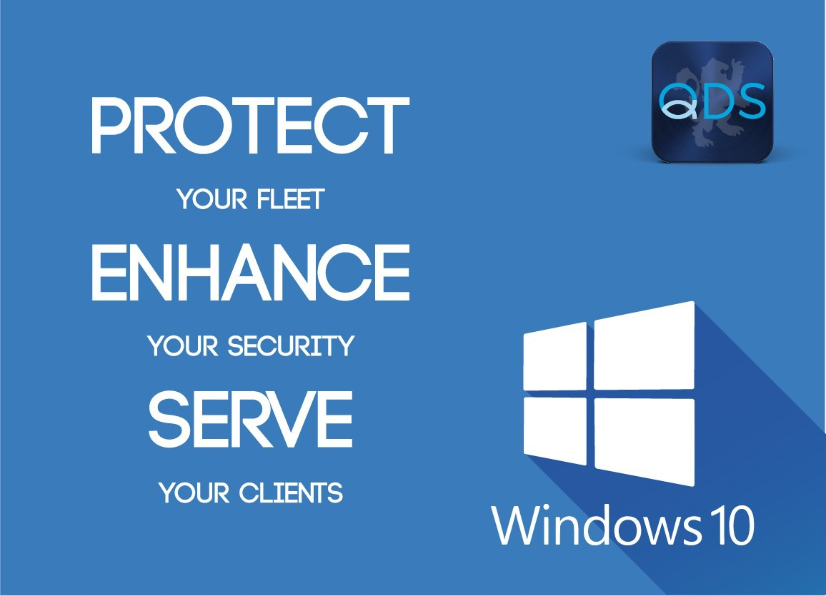 QDS Windows 10 compliance
